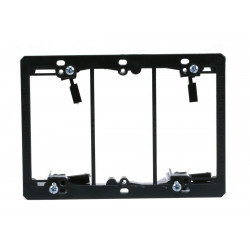 3-GANG LOW VOLTAGE MOUNTING BRACKET