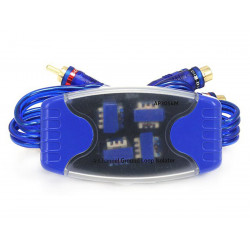 4 CHANNEL GROUND LOOP ISOLATOR