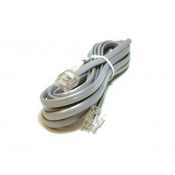 TELEPHONE CABLE, RJ11(6P4C), 7FT