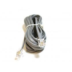 TELEPHONE CABLE, RJ11(6P4C), 14FT