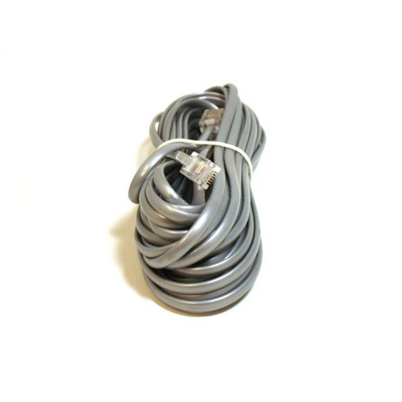TELEPHONE CABLE, RJ11(6P4C), 25FT