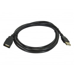 USB CABLE, A TO A, F/M, 5M(16.5FT)