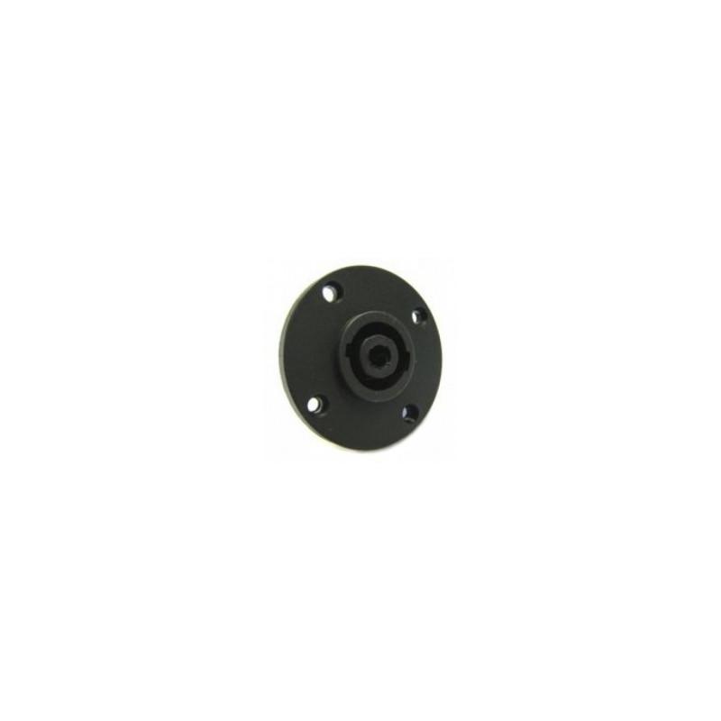 SPEAKON 4P SOCKET CHASSIS MOUNT JL0493 (ROUND)