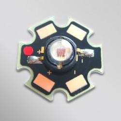 LED 3W RED 700MA 2.6V