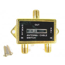 ANTENNA/CABLE A/B SWITCH BOX