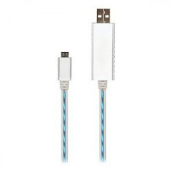 USB TO MICRO CHARGING FLOWING EFFECT CABLE