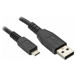 USB CABLE, A TO MICRO, M/M, 1.5M(5FT)