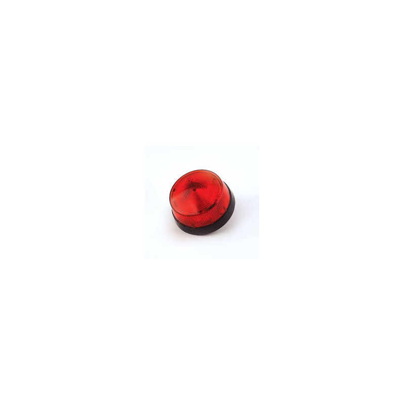 LED ALARM INDICATOR 12VDC RED