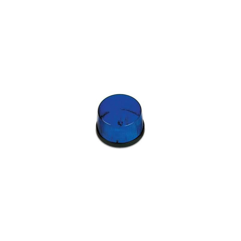 LED ALARM INDICATOR 12VDC BLUE