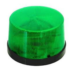 LED ALARM INDICATOR 12VDC GREEN