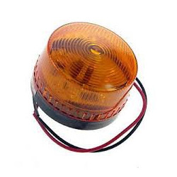 LED ALARM INDICATOR 12VDC YELLOW