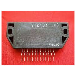 AUDIO AMPLIFIER 180W STK404-140N-E SIP-13