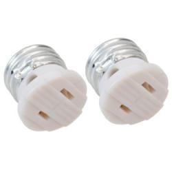 LAMP HOLDER ADAPTER 2PCS/PKG
