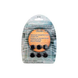 REPLACEMENT EAR PADS - 6 PCS / PKG
