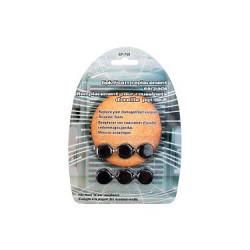 REPLACEMENT EAR PADS/CUSHION/FOAM - 6 PCS / PKG