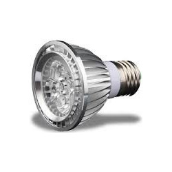 LED, PAR20, 5X1W, 85-264V, 6000-6500K, COLD WHITE