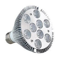 LED, PAR 30, 9W, COLD WHITE, SCREW BASE