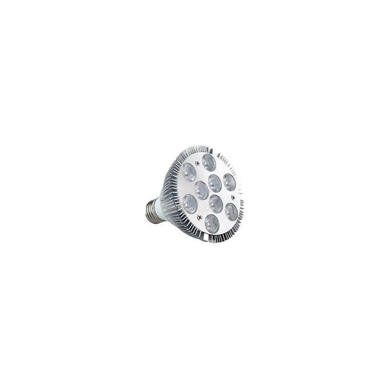 LED, PAR 30, 9W, COLD WHITE, SCREW BASE