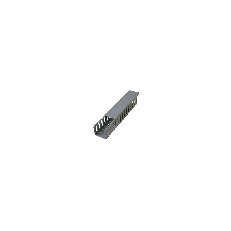 WIRE DUCT 40X40X2000MM GRAY