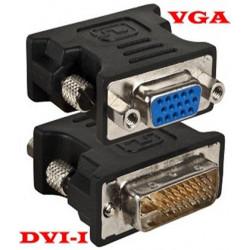 DVI(I) (M) - VGA (F) ADAPTOR 24 + 5