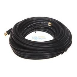 VIDEO CABLE,S-VIDEO,7.6M