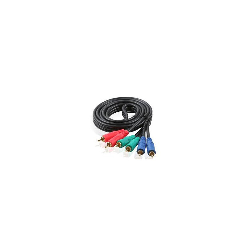 VIDEO CABLE,COMPONENT(RGB),1.8M