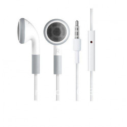 IPOD REPLACEMENT EARPHONE WITH MIC 1.5M