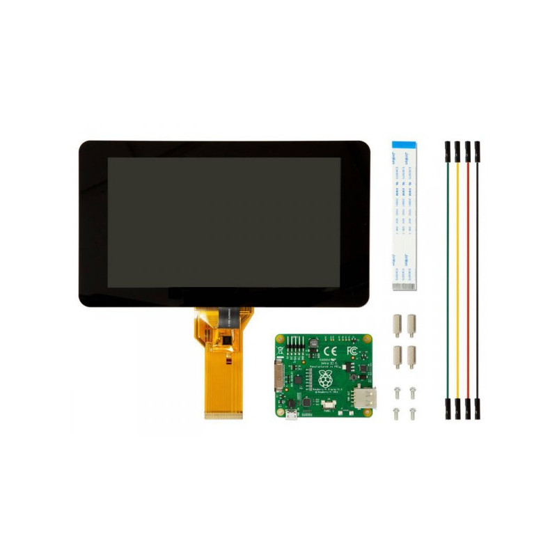 PI FOUNDATION 7 IN. TOUCH DISPLAY FOR RASPBERRY PI