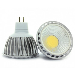 LED COB-3W, MR16, 12V, COLD WHITE