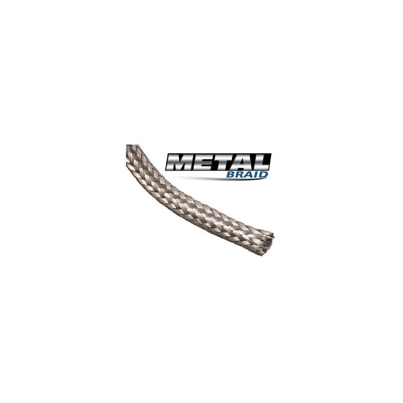 "BRAIDED SLEEVING, TINNED COPPER 1/4"", MBN0.25SV"