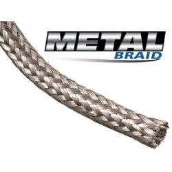 "BRAIDED SLEEVING, TINNED COPPER 5/8"", MBN0.63SV"
