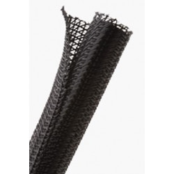 "BRAIDED SLEEVING, F6 1.25"", F6N1.25BK"