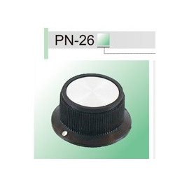 KNOB PN-26B 6.4mm