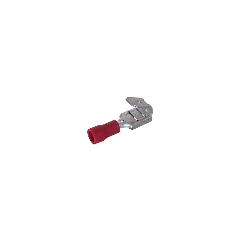 PIGGY TAIL QUICK CONNECTORS (RED) 10PCS