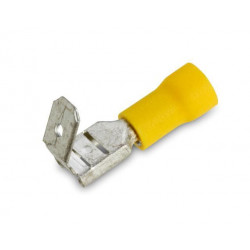 PIGGY TAIL QUICK CONNECTORS (YELLOW) 10PCS