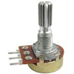 POTENTIOMETER A500K PCB LONG SPLIT SHAFT