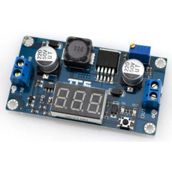 XL6009 4A STEP-UP DC-DC CONVERTER W/DISPLAY