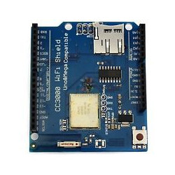 CC3000 WIFI SHIELD MODULE W/ MICRO SD CARD SLOT