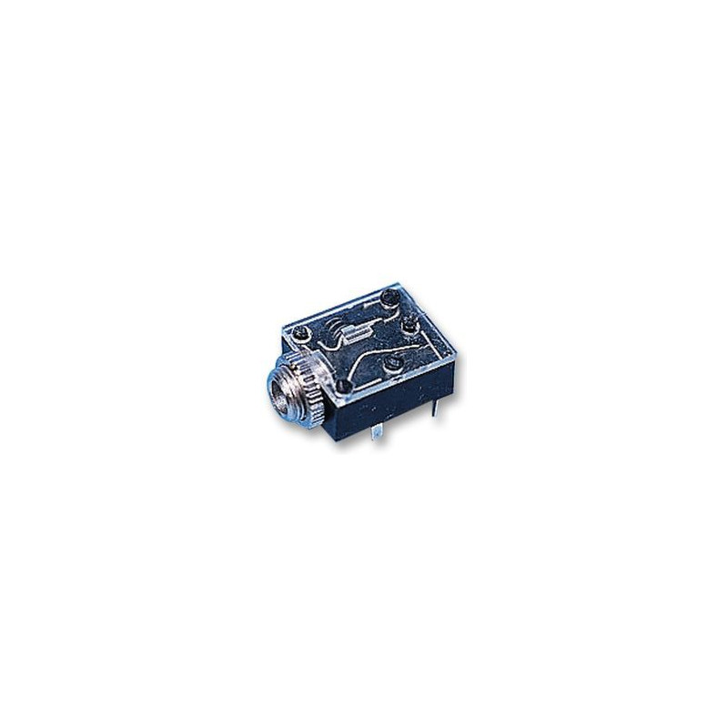 3.5MM STEREO JACK PCB W/SWITCH 5-PINS SLF3067