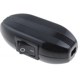INLINE ROCKER SWITCH - BLACK
