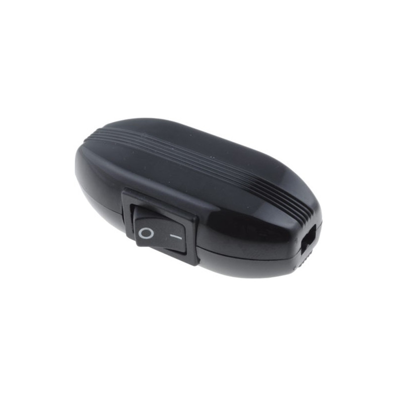 Inline Rocker Switch Black