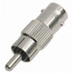 RCA PLUG/BNC SOCKET (F) ADAPTOR SLF-5090