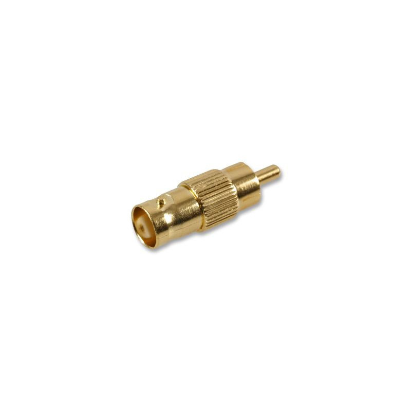 RCA PLUG/BNC JACK SLF-5090G GOLD ADAPTER
