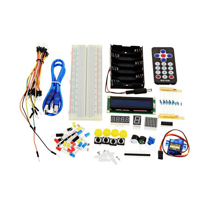 DIY MAKER LEARNING KIT FOR ARDUINO