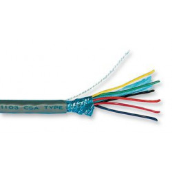 MULTICORE SHIELDED CABLE 3X2-CORD 22AWG