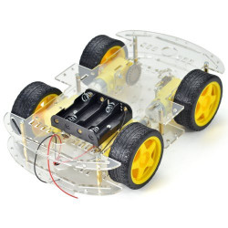 ROBOT 4 WHEEL CHASSIS