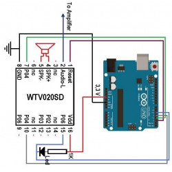 WTV SOUND MODULE WTV020 SD