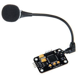 VOICE RECOGNITION MODULE W/MIC TTL TO UART