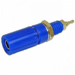 CONNECTORS, BINDING POST, 12MM, BLUE SLF2064B