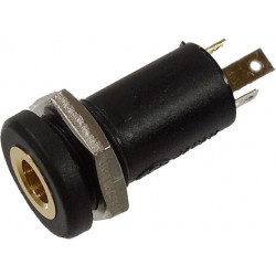 3.5MM 3WAY JACK, MJ-073H, GOLD PLATED